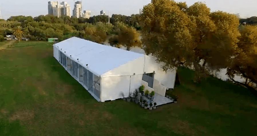 אוהלי נתנוב - פרוייקט בייק אוף ישראל