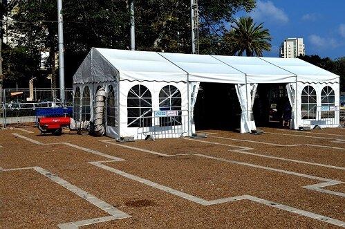 אוהלים ממוזגים להשכרה | מכירה
